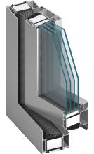 mb-104-passive  alumiiniumaknad, alumiiniumuksed, alumiiniumfassaadid, alumiiniumprofiilid