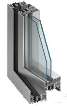 mb-70hi Külmakatkestusega alumiiniumprofiilid Alumiiniumprofiilide