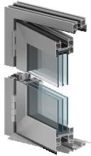 mb-86 foldline Alumiiniumaknad Alumiiniumaken Alumiiniumuks