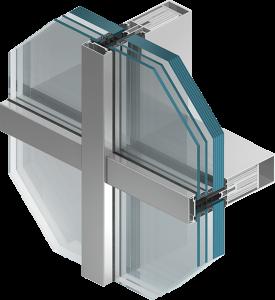 MB-SR50 EI alumiiniumaknad, alumiiniumuksed, alumiiniumfassaadid, alumiiniumprofiilid Klaasavad